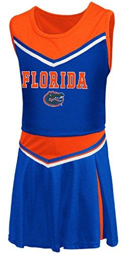 Girls Toddler Florida Gators Royal Aerial Cheer Set (4T)