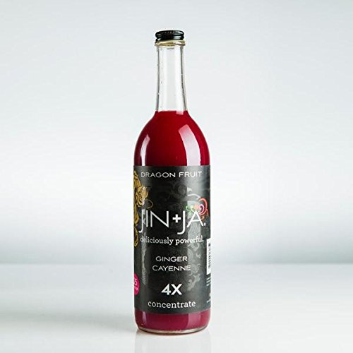 Jin+Ja Dragon Fruit 4x Concentrate 750 ml (Pack of 3) by Jin+Ja (Image #1)