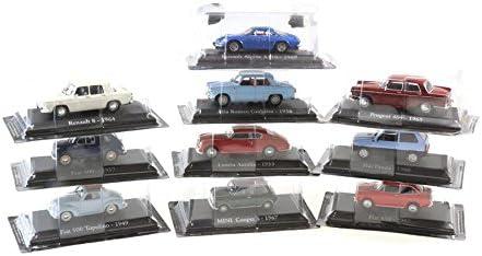 COLLEZIONE RBA FIAT 600 de 1957 blu SCALA 1//43