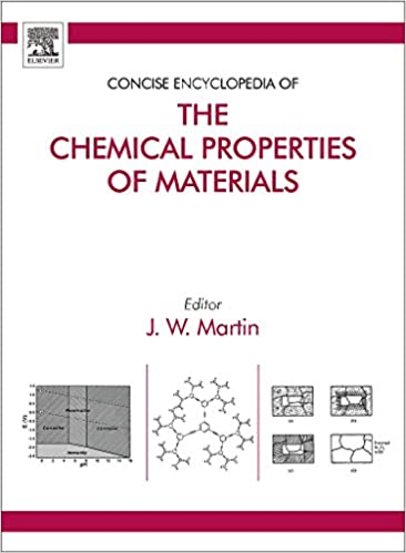 Concise Encyclopedia of the Chemical Properties of Materials: Amazon