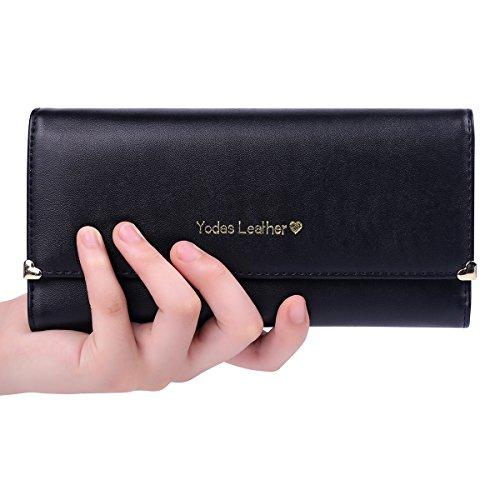 Jastore Leather Wallet Credit Clutch