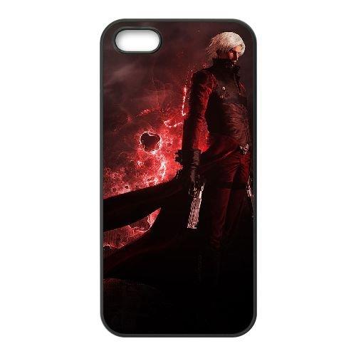 R7L31 devil may cry Y0N5PM coque iPhone 5 5s cellule de cas de téléphone couvercle coque noire WW3ORP5YK