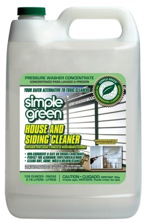 128OZ SIMPLE GREEN HOUSE & SIDING PRESSURE WASHER CLEANER: Amazon co