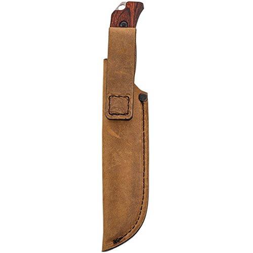 Benchmade - Saddle Mountain Skinner 15003-2 w/Hook, Drop-Point, Stabilized Wood Handle