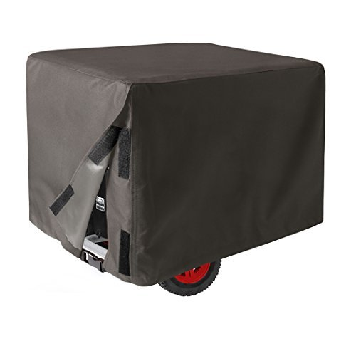 HOMEKOKO Durable Universal Generator Cover 100% Waterproof Grey (20'' L×15''W×17'' H)