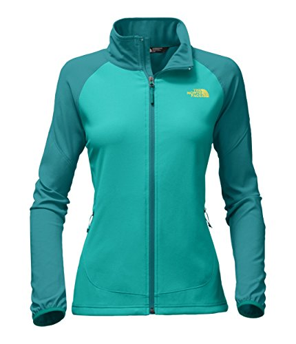 The North Face Women's Nimble Jacket - Pool Green & Porcelain Green - S