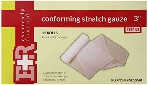 Ever Ready First Aid Sterile Conforming Gauze Roll Bandag...