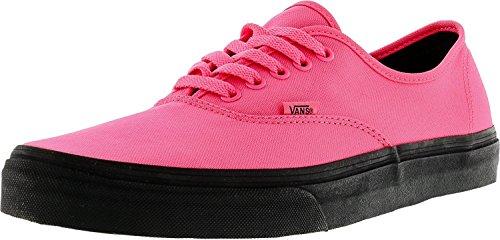 Vans Authentisch Neon Pink / Schwarz