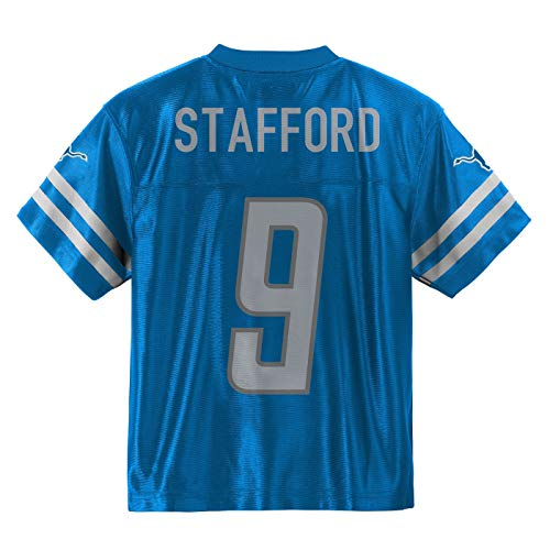 Outerstuff Matthew Stafford Detroit Lions  9 Blue Youth Home Player Jersey ( Large 14 16) 68b941f41