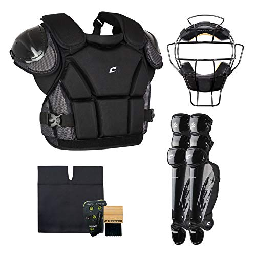 (CHAMPRO Sports Varsity Umpire KIT-Black Black)