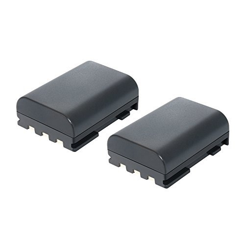 Bonacell 2 Pack 1700mAh Replacement Canon NB-2L/ NB-2LH Batt