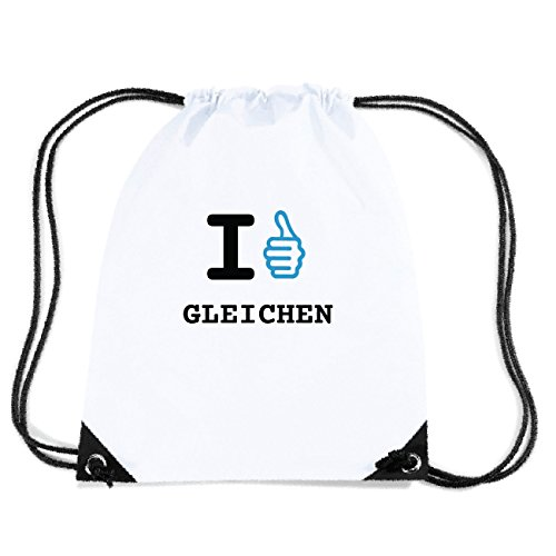 JOllify GLEICHEN Turnbeutel Tasche GYM2535 Design: I like - Ich mag