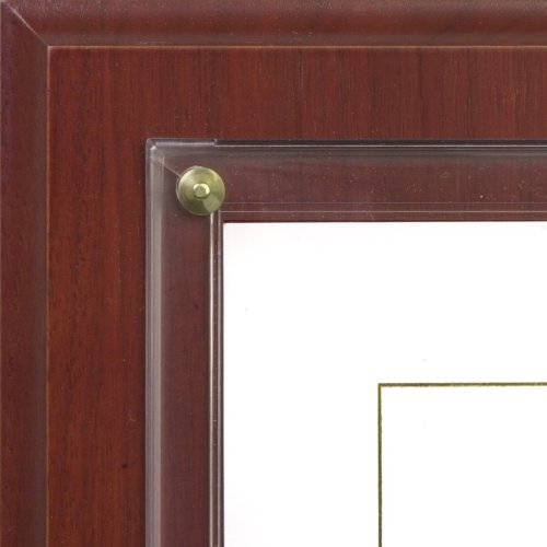 Walnut Grove Slide-in Certificate Plaque and Document Holder (Cherry)