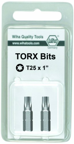 Wiha 71644 25mm IP30 Torx Plus Insert Bit, 2-Pack