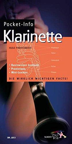 Pocket-Info Klarinette: Basiswissen kompakt - Praxistipps - Mini-Lexikon