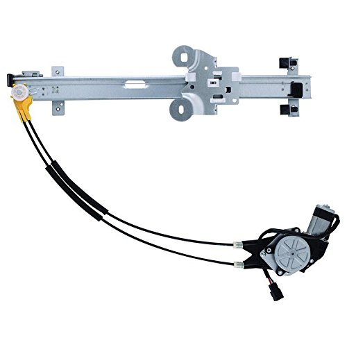 New Window Regulator W/Motor Front Drivers Side Left LH For Select 1991-1995 Chrysler Dodge Plymouth 741-626, 11A107, 4480017, 4673513, 4675187