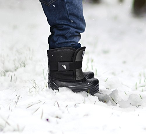 Stonz Scout Winter Boots for Cold Weather, Snow, Ice and Winter Sports - Insulated, Super Light & Warm - Pink/Black, 7T by Stonz (Image #7)