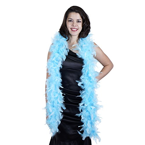 (Zucker SF60 - Medium Weight Decorative Chandelle Boa Feathers - 5.5