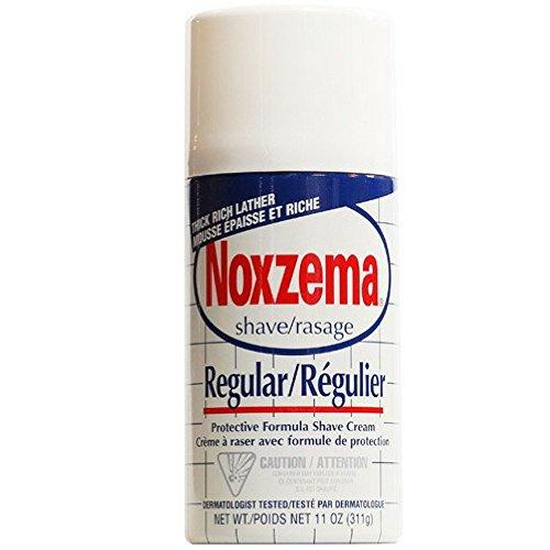 Noxzema Shave Cream Regular 11 oz (Pack of 6)