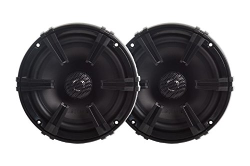 MB Quart DK1-113 Discus 2-Way Car Coaxial Speaker System with 0.75-Inch Aluminum Dome Tweeter on Silk Surround, 5.25-Inch, Set of 2
