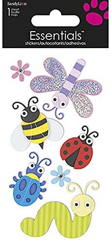 Sandylion Bugs Large Essentials Sticker Multi