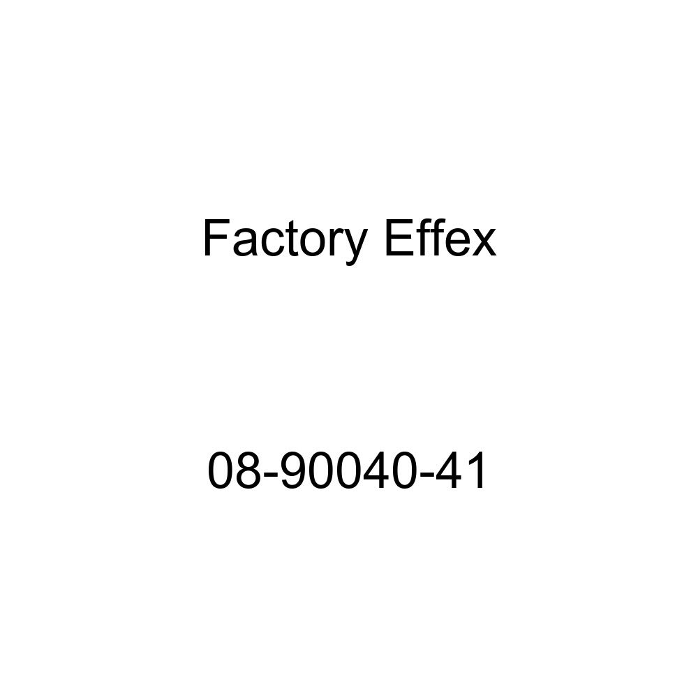 Factory Effex 08-90050-51 White 6 Factory Number Graphic
