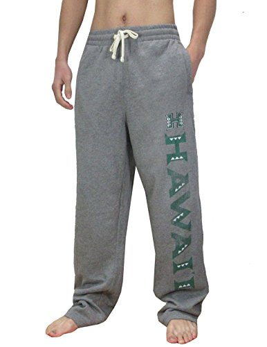 NCAA HAWAII WARRIORS Mens Heavy Weight Sports / Track Pants S - Hawaii Shopping Outlets