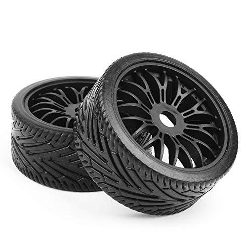 FidgetGear for 1:8 Off Road HPI HSP Traxxas RC Buggy Car 22046+26010 4Pcs Tires Wheel Rims from FidgetGear