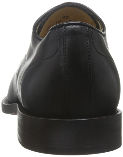 H Par Hudson Mens Tomlin Veau Plaine Toe Derby Chaussures Noir