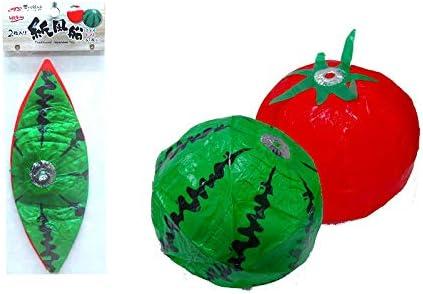 伝統玩具 昔から伝わる和玩具 紙風船 スイカとトマトのセット