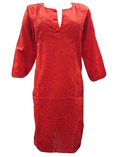 Mogul Interior - Kurta - para mujer Orange Red