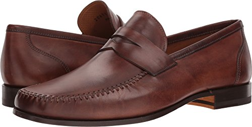 Mens Shoes Magnanni Ramos Penny Loafer Marrone