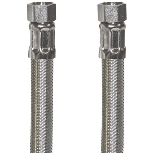 Certified Appliance Accessories Certified Appliance 77905 Braided Stainless Steel Ice Maker Connector, 6-Feet, gray