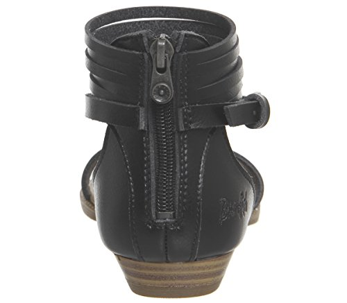 Blowfish Becha Sandals Black Dyecut 6aass4KHR