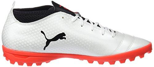 black white Tt Blanco Coral Zapatillas One Hombre Fútbol Para De 17 4 Puma fiery qA4gF
