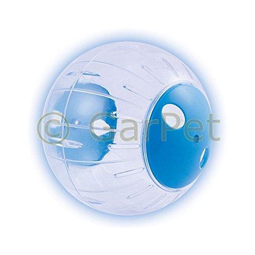 Hamsterball Mäuseball Joggingball Laufball Laufkugel Laufrad Hamster Ball (klein, blau)