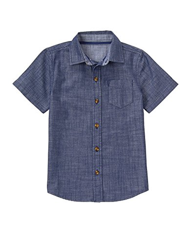 Crazy Short Sleeve Chambray Shirt