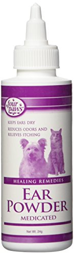 Four Paws Dog Ear Powder, 24 Grams (Best Ear Powder For Dogs)