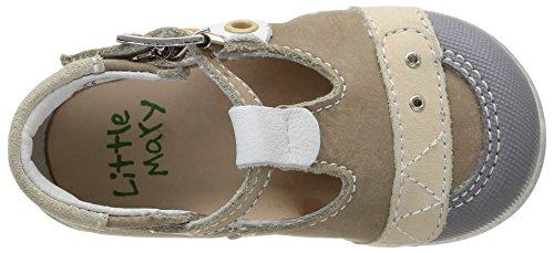 Little Mary Video - Zapatos de primeros pasos Bebé-Niñas Beige (Icarus Tourbe)