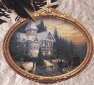 (Hallmark Keepsake Ornament - Victorian Christmas 1st in Series by Thomas Kinkade, Painter of Light 1997 (QXI6135))