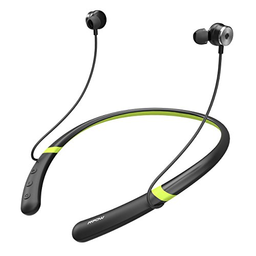 Mpow Active Noise Cancelling Bluetooth Headphones, V4.2 Bluetooth Neckband Headset, IPX6 Waterproof Sports Earphones w/Magnetic Earbuds