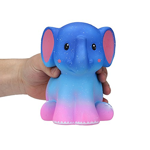 Sagton Umbo Galaxy Elephant Soft Slow Rising Cream Scented Stress Relief Toy