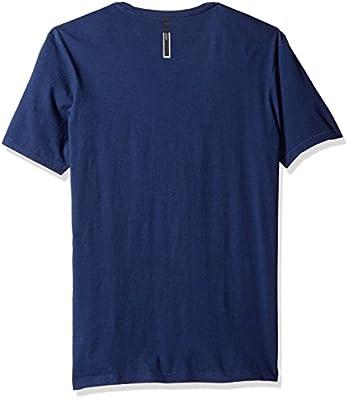 Calvin Klein Jeans Men's Short Sleeve Sunshine Burst Ck Logo Crew Neck T-Shirt
