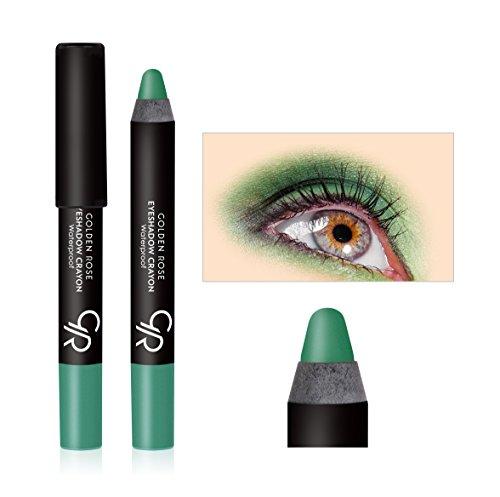 Golden Rose Waterproof Eyeshadow Crayon - (Waterproof Eye Colour Base)