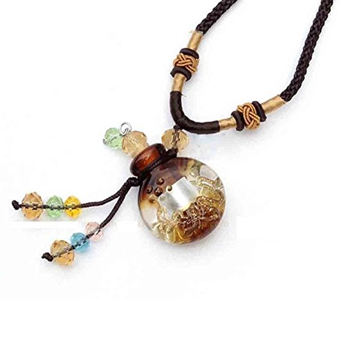 Glass Essential oil Aromatherapy Pendant