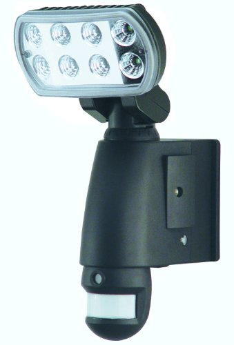 SmartGuard AEC-931BSD-SP8 Motion Sensor LED Light with Camera and Audio