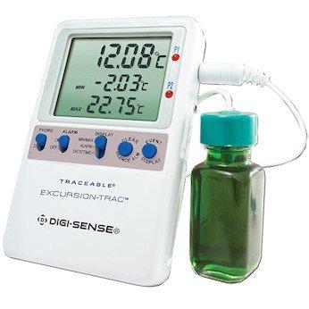 Digi-Sense Calibrated Data Logging Digital Thermometer, 1 Bottle Probe