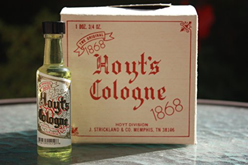 1 BOTTLE - HOYT'S COLOGNE 3/4 FL OZ ORIGINAL GLASS BOTTLE +FREE GIFT (Original Glass Bottle)