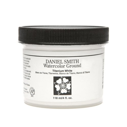 Daniel Smith 284055002 Watercolor Ground, 4 oz, Titanium White by Daniel  Smith Premium Art Brands Ltd d7ec4951dba