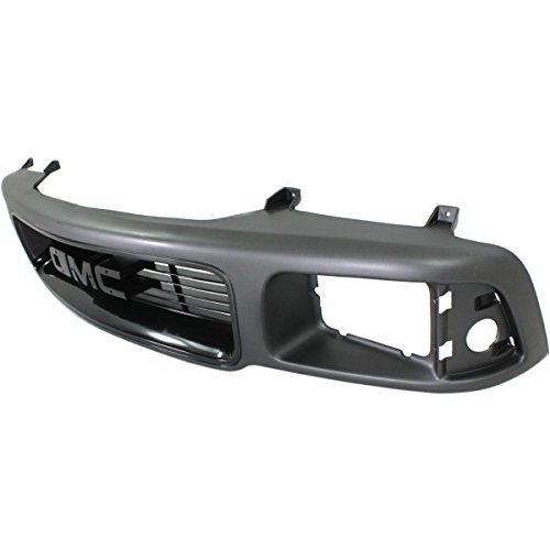 (Diften 102-A3769-X01 - New Grille Assembly Grill Black GMC Jimmy 97 96 95 Sonoma 94 GM1200344 15647631)